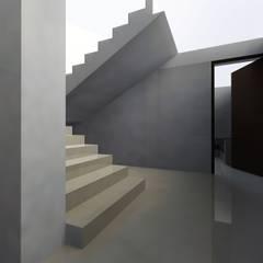 Edificio Muriel Córdoba: Escaleras de estilo  por MARROOM | Diseño Interior - Diseño Industrial, Moderno