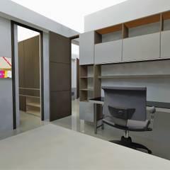 Edificio Muriel Córdoba: Estudios y despachos de estilo  por MARROOM | Diseño Interior - Diseño Industrial