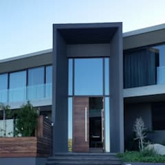 CAPE TOWN EUROPEAN STANDARD DOUBLE GLAZED ALUMINIUM PROJECT:  Sliding doors by ALU-EURO ALUMINIUM PRODUCTS