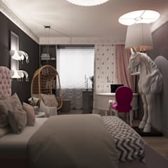 Girls Bedroom by Irina Yakushina