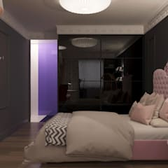 Girls Bedroom by Irina Yakushina,