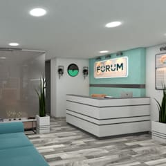 Local FORUM: Estudios y despachos de estilo  por ARQUINEX