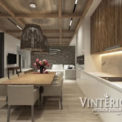 Kitchen units by Vinterior - дизайн интерьера, Country