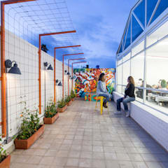 ARB: Terrazas de estilo  por entrearquitectosestudio