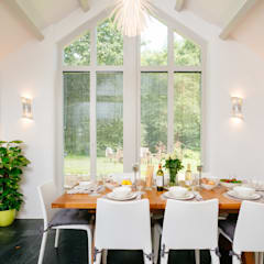 Mill Barn, Cardinham:  Dining room by Perfect Stays