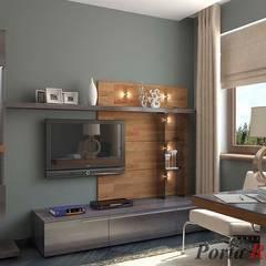 """""""Вілла Вероніка"""" :  Офіс by Дизайн студія 'Porta Rossa'"""