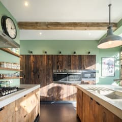 Fairfield South:  Built-in kitchens by Brandler London