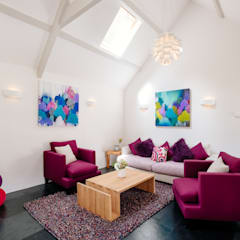 Callywith, Cardinham:  Living room by Perfect Stays
