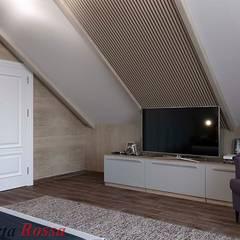 Приватный будинок в с. Забір'я:  Спальня by Дизайн студія 'Porta Rossa'