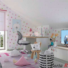 Nursery/kid's room by Дизайн студія 'Porta Rossa',
