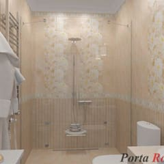 Приватный будинок в с. Забір'я:  Ванна кімната by Дизайн студія 'Porta Rossa'