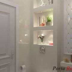 Приватный будинок в с. Кюрківщина:  Ванна кімната by Дизайн студія 'Porta Rossa'