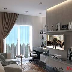 Приватный будинок в с. Кюрківщина:  Офіс by Дизайн студія 'Porta Rossa'