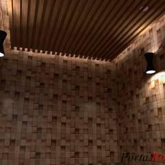 Приватный будинок в с. Кюрківщина:  Басейн by Дизайн студія 'Porta Rossa'
