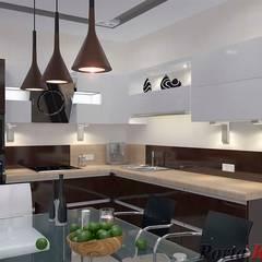 Kitchen by Дизайн студія 'Porta Rossa'