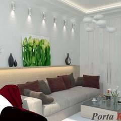Spa de estilo  de Дизайн студія 'Porta Rossa', Minimalista