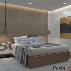 Квартира в м. Київ, вул. Якіра:  Спальня by Дизайн студія 'Porta Rossa'