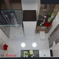 Квартира в м. Київ, вул. Якіра:  Ванна кімната вiд Дизайн студія 'Porta Rossa', Сучасний