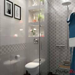Квартира в м. Київ, вул. Якіра:  Ванна кімната by Дизайн студія 'Porta Rossa'