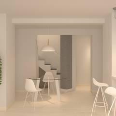 DISEÑO INTERIOR AGENCIA DE COMUNICACIÓN: Oficinas y Tiendas de estilo  de 3B Studio