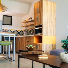 Cocinas de estilo  por Andrea Loya