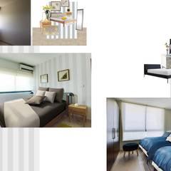 Bedroom by Andrea Loya, Tropical