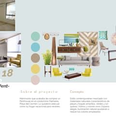 Palmares PH: Salas de estilo  por Andrea Loya