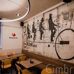"""Proyecto, diseño y reforma de local comercial """"Mushroom"""": Bares y Clubs de estilo  de Cimbra47"""