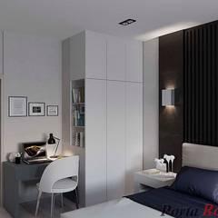 "Квартира в  ЖК ""NEW YORK Concept House"":  Спальня вiд Дизайн студія 'Porta Rossa', Сучасний"