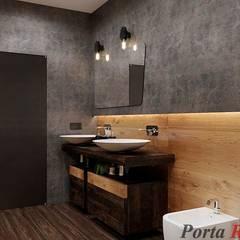 "Квартира в  ЖК ""NEW YORK Concept House"":  Ванна кімната by Дизайн студія 'Porta Rossa'"
