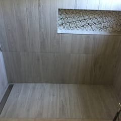 Baños: Baños de estilo  por JORGE PALMA PAPIC E.I.R.L.