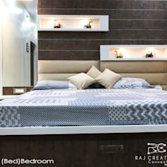 Asian style bedroom by Raj Creation Asian