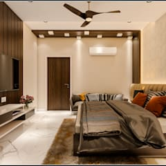 Eclectic style bedroom by Raj Creation Eclectic