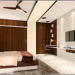 The modern Touche:  Bedroom by Raj Creation