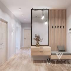 Квартира 2-х комнатная в современном стиле, ЖК «Obolon SKY», г. Киев: Коридор и прихожая в . Автор – Vinterior - дизайн интерьера