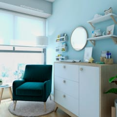 Baby room by NF Diseño de Interiores