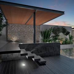 Kolam air hangat by Heftye Arquitectura