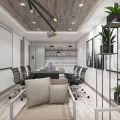 VIVIENDA PEDRO URRACA: Oficinas de estilo  por HANS DIETER ARQUITECTO