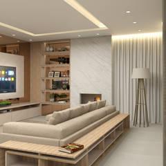Salas / recibidores de estilo  por Projeto 3D Online