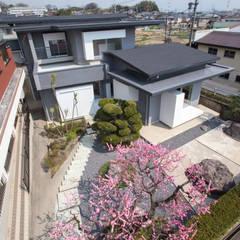 House YO の 1-1 Architects 一級建築士事務所 モダン