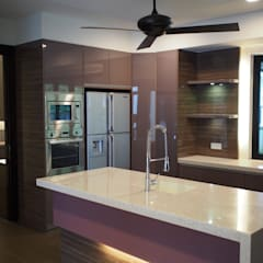 Kitchen by Mode Architects Sdn Bhd