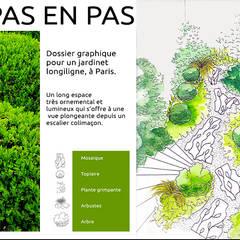 Création de jardin et allée en mosaique: Jardin de style  par Stuc Mosaic, Moderne Marbre