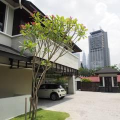 Luxury Bungalows @ Lorong Gurney Kuala Lumpur:  Houses by Mode Architects Sdn Bhd