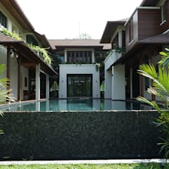 Luxury Bungalow In Sungai Penchala Kuala Lumpur:  Houses by Mode Architects Sdn Bhd, Tropical