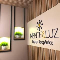 Clínica Mente e Luz: Clínicas  por Escritorio de Arquitetura Karina Garcia
