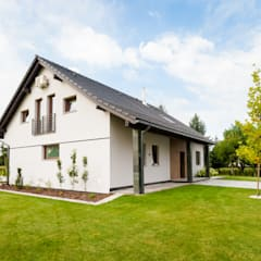 Dom Rodzinny: styl , w kategorii Dom jednorodzinny zaprojektowany przez in2home