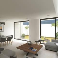 Дома на одну семью в . Автор – Rios Serna Arquitectos, Минимализм