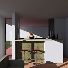 قبو النبيذ تنفيذ Rios Serna Arquitectos , تبسيطي