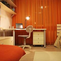Оранжевое настроение: Детские спальни в . Автор – Irina Yakushina