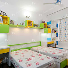Small bedroom by 2 Bricks Design Studio